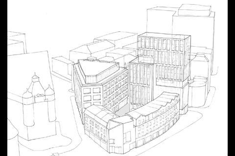 Overview of the Shoreditch Island proposals by Douglas and King Architects